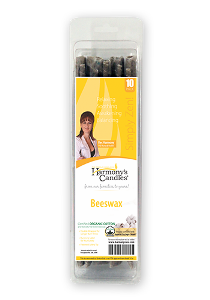 Beeswax Herbal Sage Candles #4511