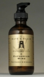 Kate's Magik Massage Oils - Euphorian Wind #8226