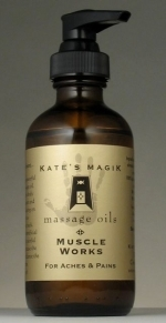 Kate's Magik Massage Oils - Muscle Works #8228