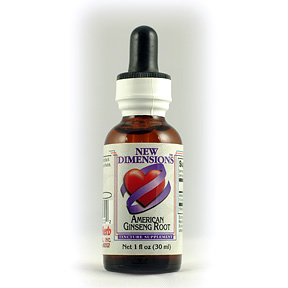 American Ginseng Tincture #3001