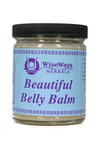 Wise Way Herbals - Beautiful Belly Balm 4 oz #638