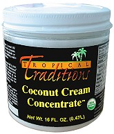 coconut cream concentrate #9652