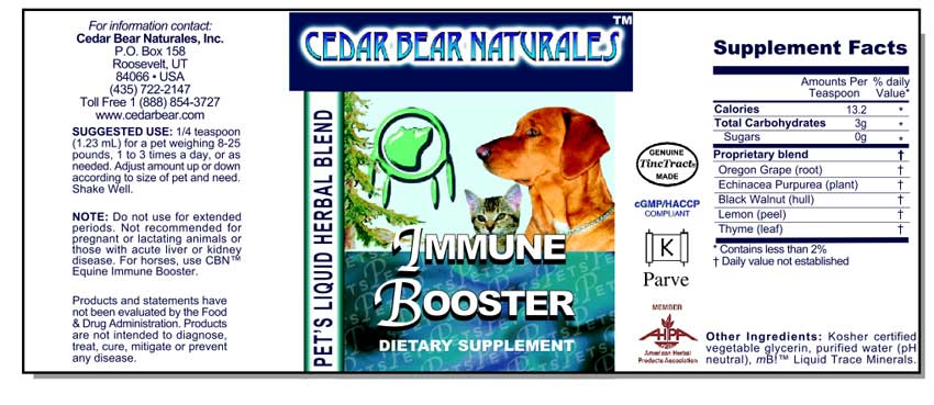 Boosts Immune System Function (for. Imm Boost) #1600