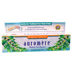Auromere Freshmint Toothpaste #7404